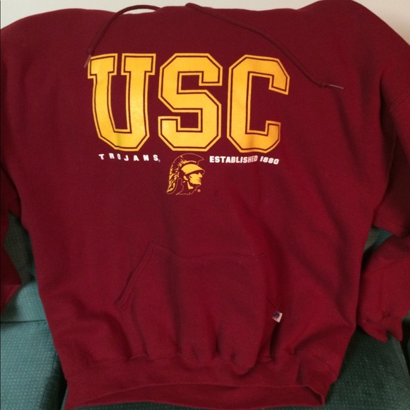 Russell Athletic Shirts S Size Xxl Usc Trojans Hoodie Poshmark